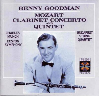 Mozart - Klarinettenkonzert -by- Benny Goodman, .:. Song list
