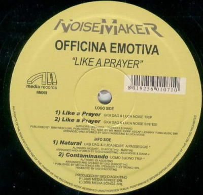 Officina Emotiva - Like A Prayer
