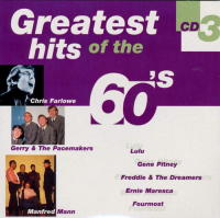 Greatest Hits of The 60s. Vol 3