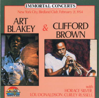 (033) Art Blakey and Clifford Brown - Birdland Club