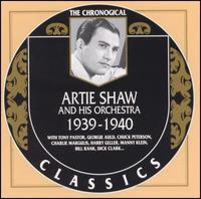 Artie Shaw. 1939-1940
