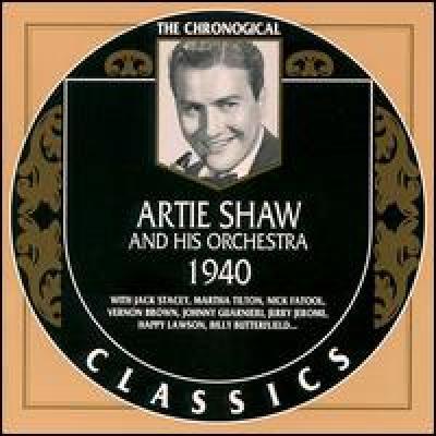 Artie Shaw. 1940