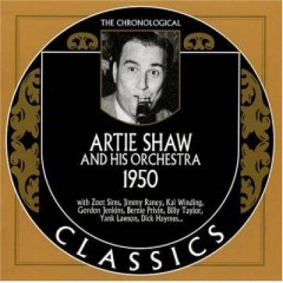 Artie Shaw. 1950