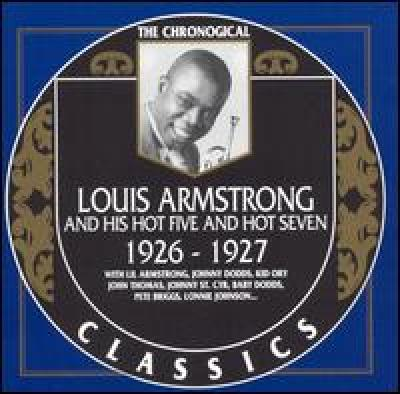Louis Armstrong. 1926-1927