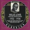 Willie Lewis. 1932-1936