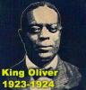 King Oliver 1923-1924